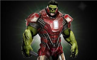 Hulk berpakaian Ironman