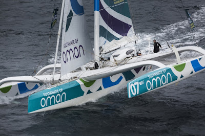 Le MOD70 Oman Sail inscrit sur la Québec Saint Malo