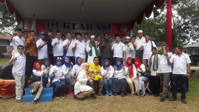 Prabowo-Sandi Dapat Tambahan Dukungan dari GP Prasa Pimpinan Lukmanul Hakim