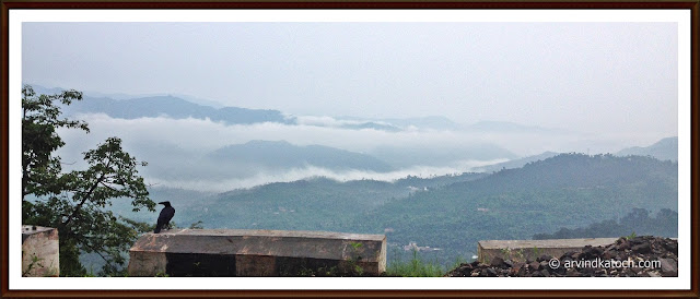 Clouds, Way, Shimla,