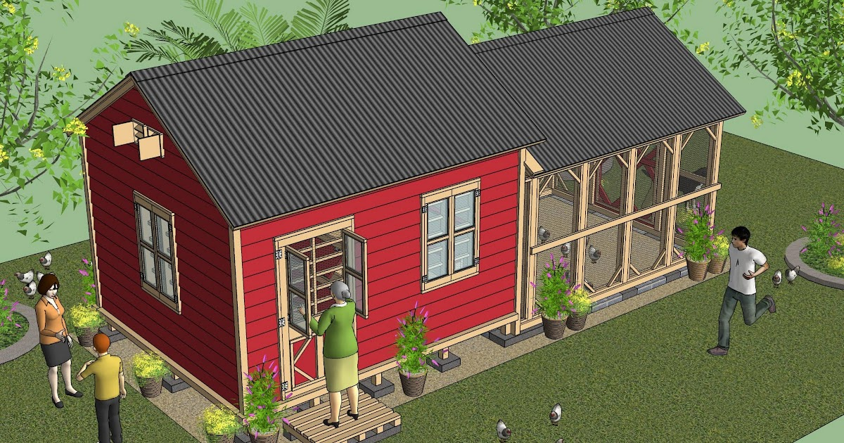 Cb210 combo plans chicken coop plans construction garden for Garden shed 4 u