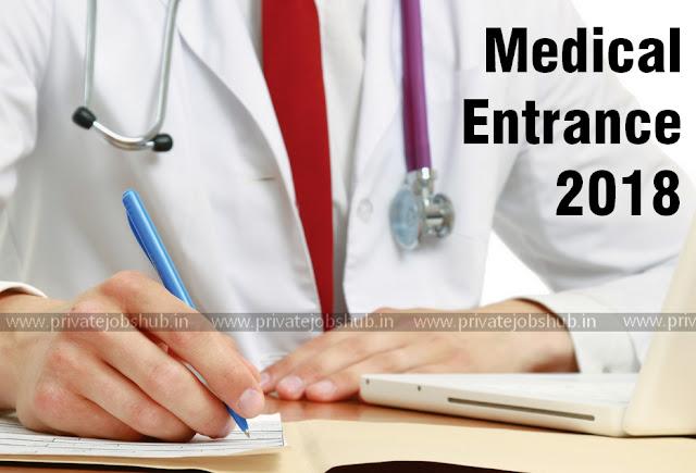 Medical Entrance 2018