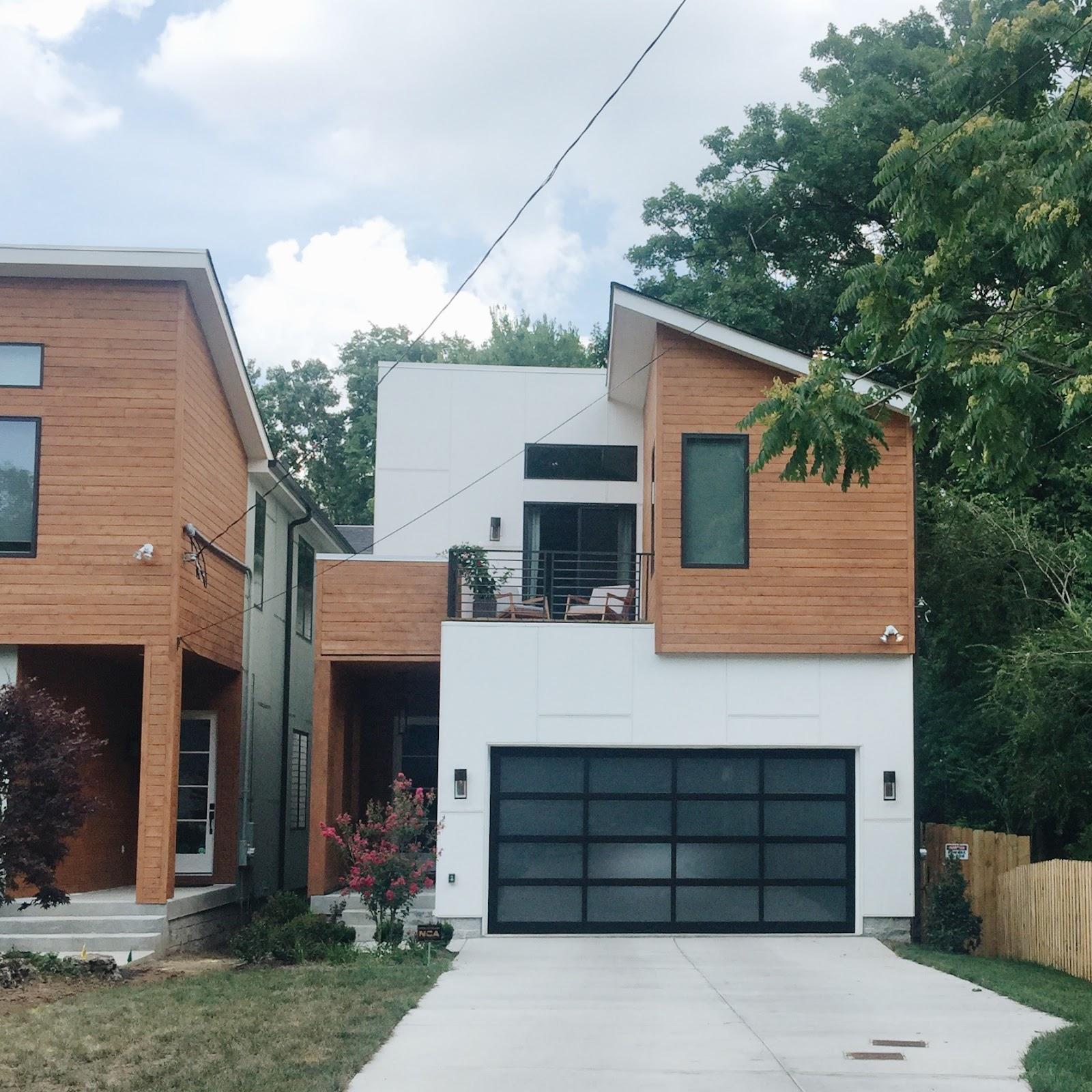 Modern house in Nashville