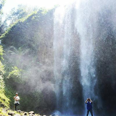 Air Terjun Lembah Misteri, Lebuay, di Air Naningan Tanggamus