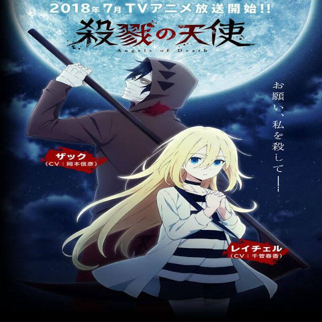 بعد أن تم عرض الحلقة 12 من أنمي Satsuriku no Tenshi تم الإعلان من خلال إستعراض الحلقة القادمة (الفيديو بالأسفل) عن حلقة أخيرة رقم 13 سيتم عرضها