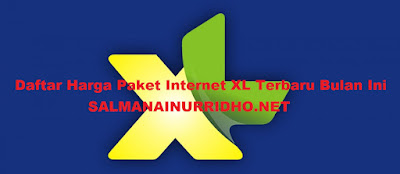 Daftar Harga Paket Internet XL Terbaru Bulan Ini