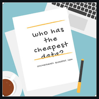 Who has the cheapest data