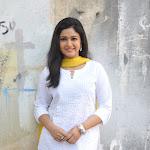 Poonam Bajwa Latest Cute Stills in White Churidar