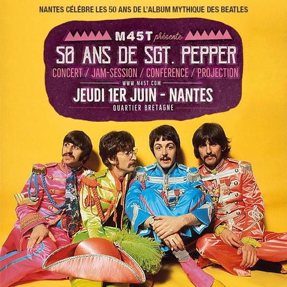 Nantes célèbre les 50 ans de l'album « Sgt. Pepper » des Beatles