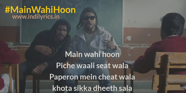 Main Wahi Hoon | Pics | Raftaar ft. Karma | Photos | Images | Quotes