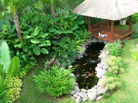 Desain Taman Dan Kolam Ikan Minimalis Dalam Rumah Blog