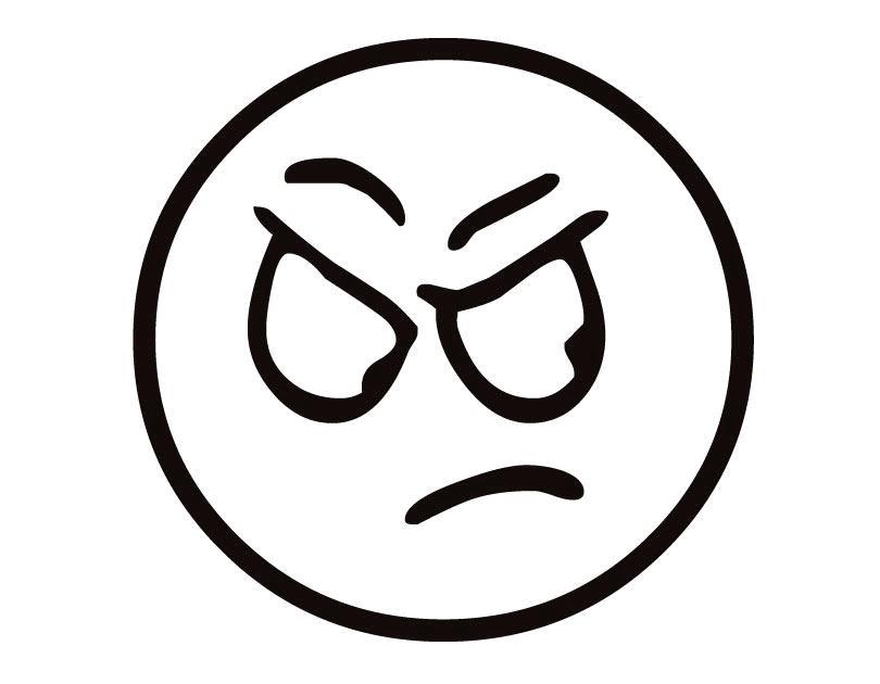 10 Gambar Mewarnai Emoticon Untuk Anak PAUD dan TK