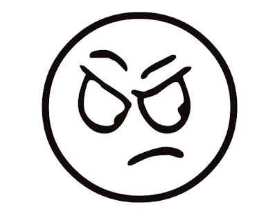 Gambar Mewarnai Emoticon - 9