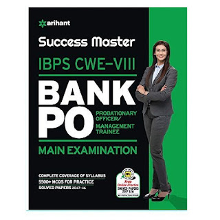 Arihant Success Master IBPS-CWE VIII Bank PO Exam [English Edition]
