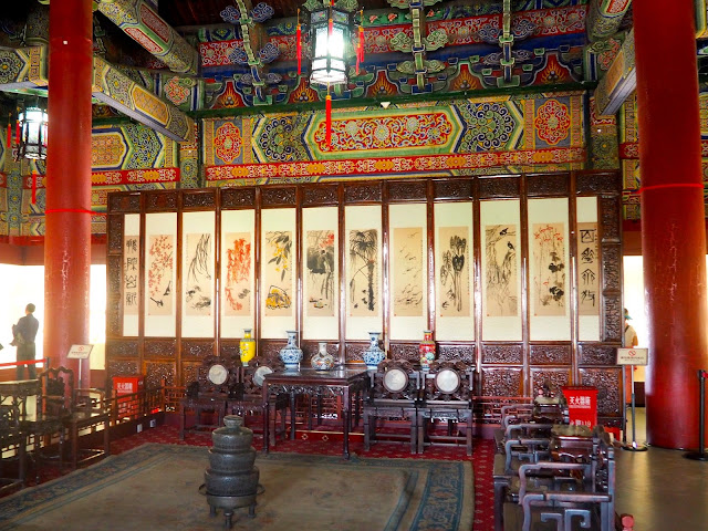 Interior of the Bell Tower, Xian, China
