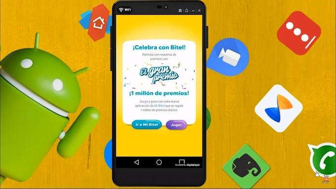 BITEL REGALA MUCHOS PREMIOS CON ESTA APLICACIÓN / INTERNET / LLAMADAS Y SMS / SOLO PERÚ