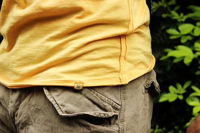 dstrezzedディストレススラブt-shirtsslubteegreenangleグリーンアングルカーゴショーツcargoshorts