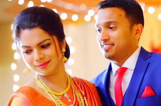 Noami with Sanoop Wedding Highlights