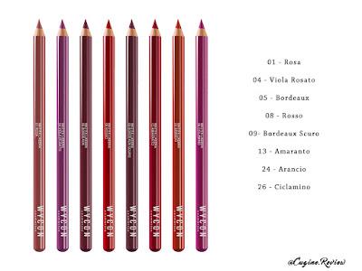 liquid lipstick come averli, wycon matite labbra