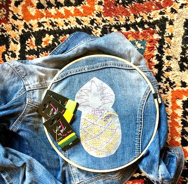 Broderie Ananas Facile Mimousk