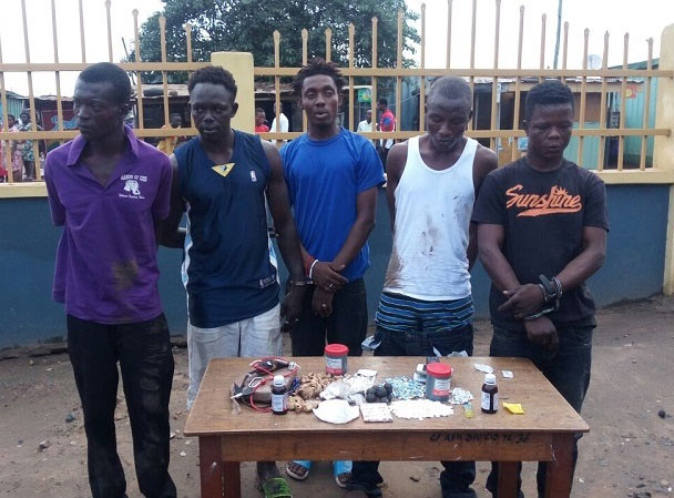 "Ghana Police nab notorious drug dealer, ""Hollywood"""