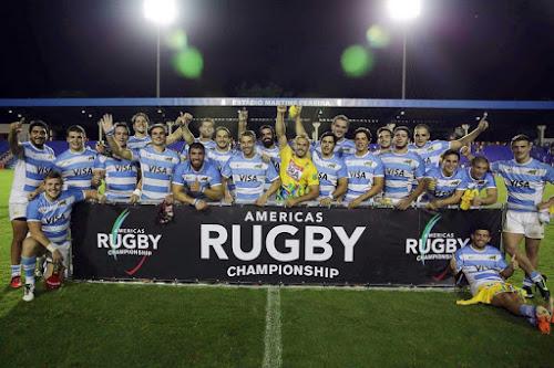 Plantel de Argentina XV para la Americas Rugby Championship
