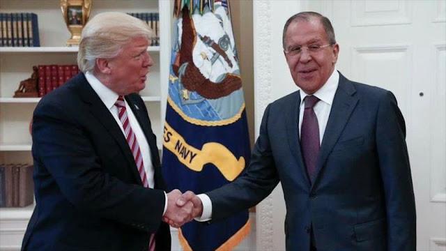 Trump califica de 'muy buena' la reunión con Lavrov