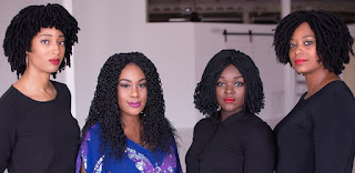 'Braided Elegance' Wigs from West Africa