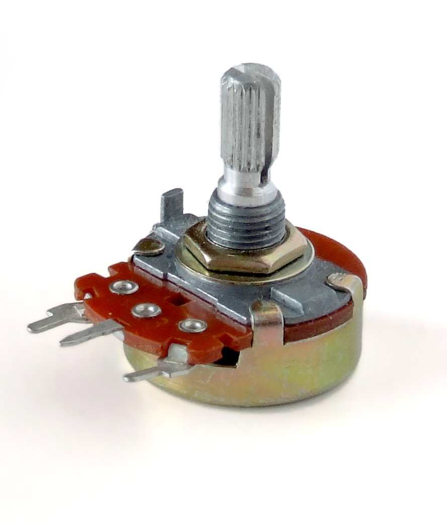 Potentiometer wiring to DC-DC step up converter
