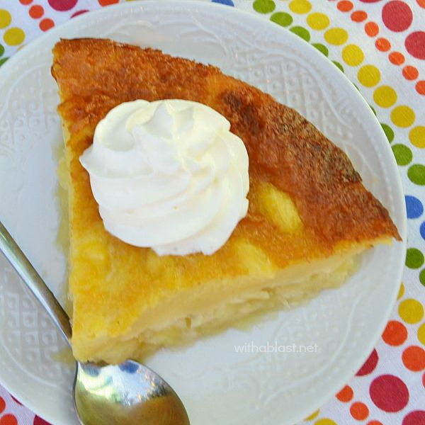 Crustless Pineapple Pie