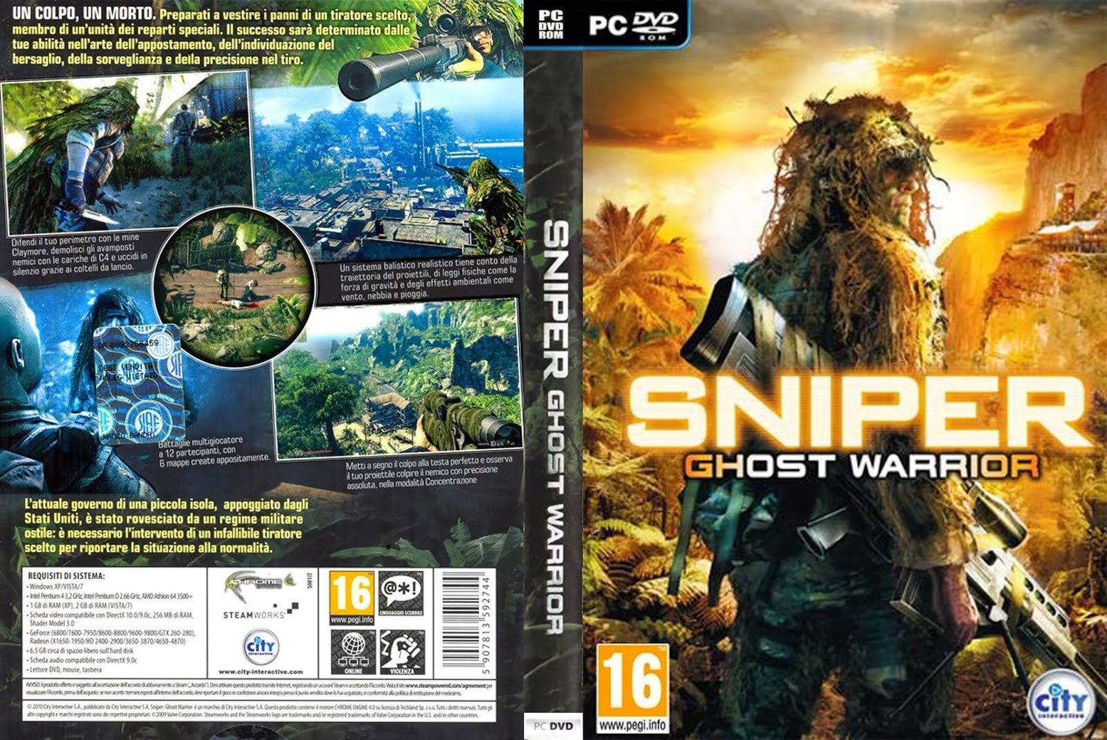 sniper ghost warrior system requirements