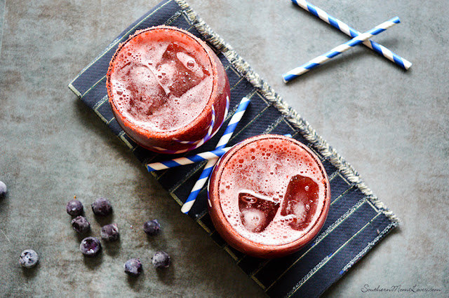 Blueberry Watermelon Lemonade