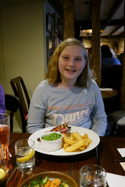 childrens meal at The Lamb Inn, Hooe