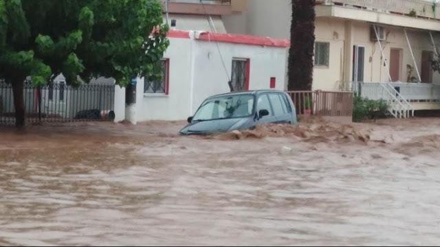 Ανείπωτη τραγωδία την Εύβοια: Νεκροί δυο ηλικιωμένοι και ένα βρέφος από τις πλημμύρες (βίντεο)