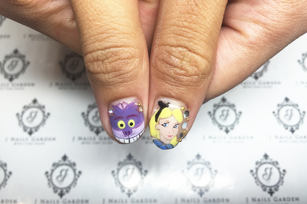 Alice Through The Looking Glass Nails with J Nails Garden: Review ...