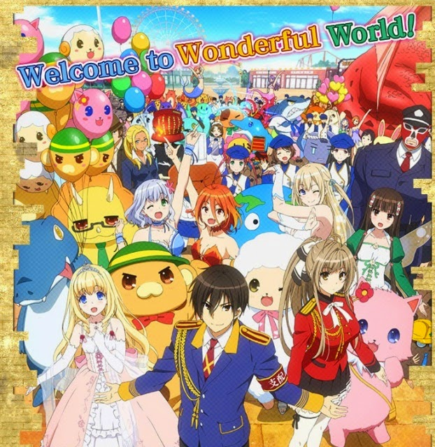 Amagi Brilliant Park ταινιες online seires oipeirates greek subs