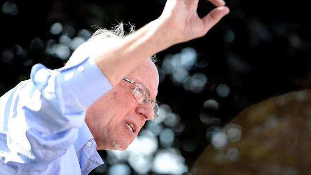 Demócratas elegirían a Sanders en reemplazo de Clinton