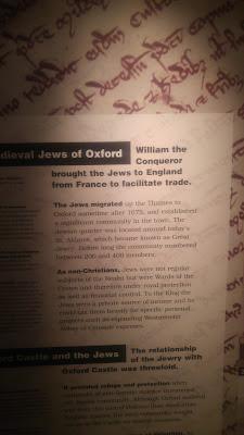 הנקודה היהודית באוקספורד