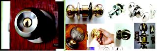 Round Door Handles (Gagang Pintu Bulat)