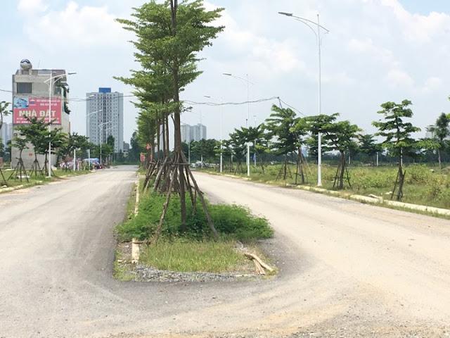 Hạ tầng cây xanh đô thị trong nội khu đô thị Thanh Hà Cienco5