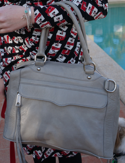 AwayFromBlue Rebecca Minkoff soft grey MAB bag