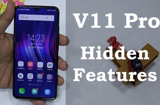 fitur tersembunyi di Vivo V11 Pro