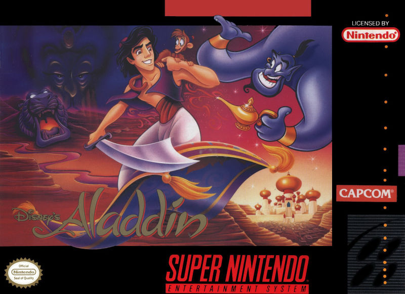 ROMs - Aladdin (Português) - SNES Download