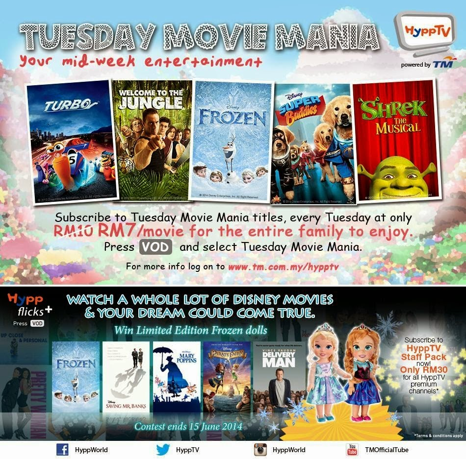 Tuesday Movie Mania – Your Mid Week Entertainment