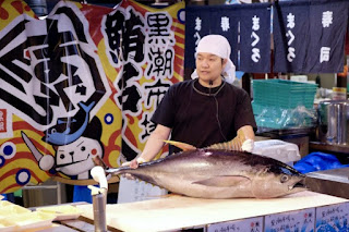 Tuna Cutting Show
