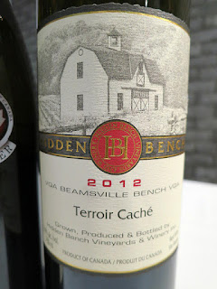 Hidden Bench Terroir Caché Meritage 2012 - VQA Beamsville Bench, Niagara Escarpment, Ontario, Canada (92 pts)