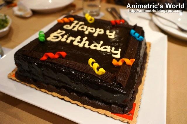 Red Ribbon Dedication Cake