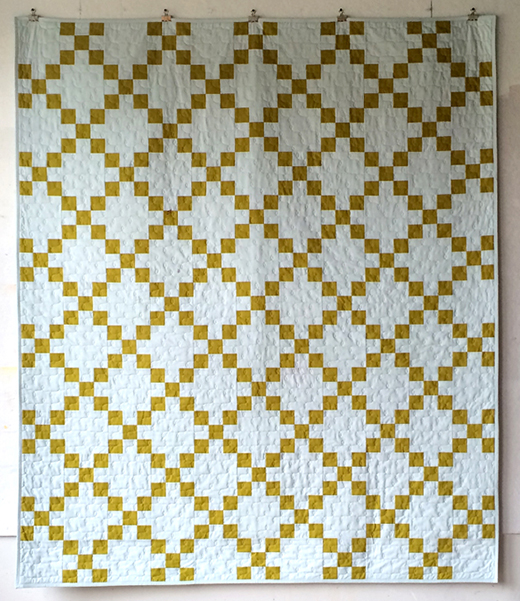 Irish Chain Quilt Free Tutorial designed by Jenny of Missouri Quilt Co