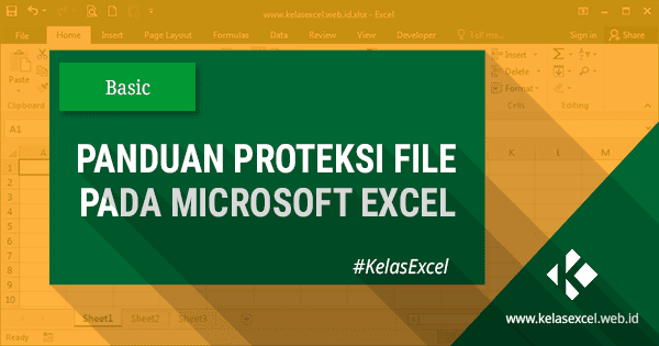 Cara Protect File Excel