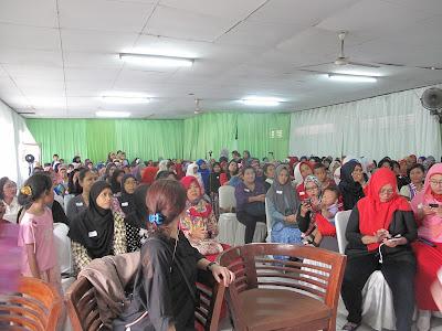 peserta dari berbagai wilayah Andalan Bunda Cerdas
